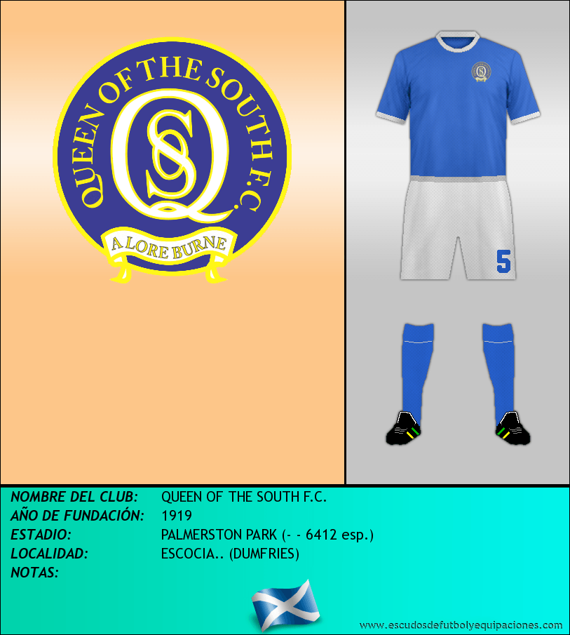 Escudo de QUEEN OF THE SOUTH F.C.