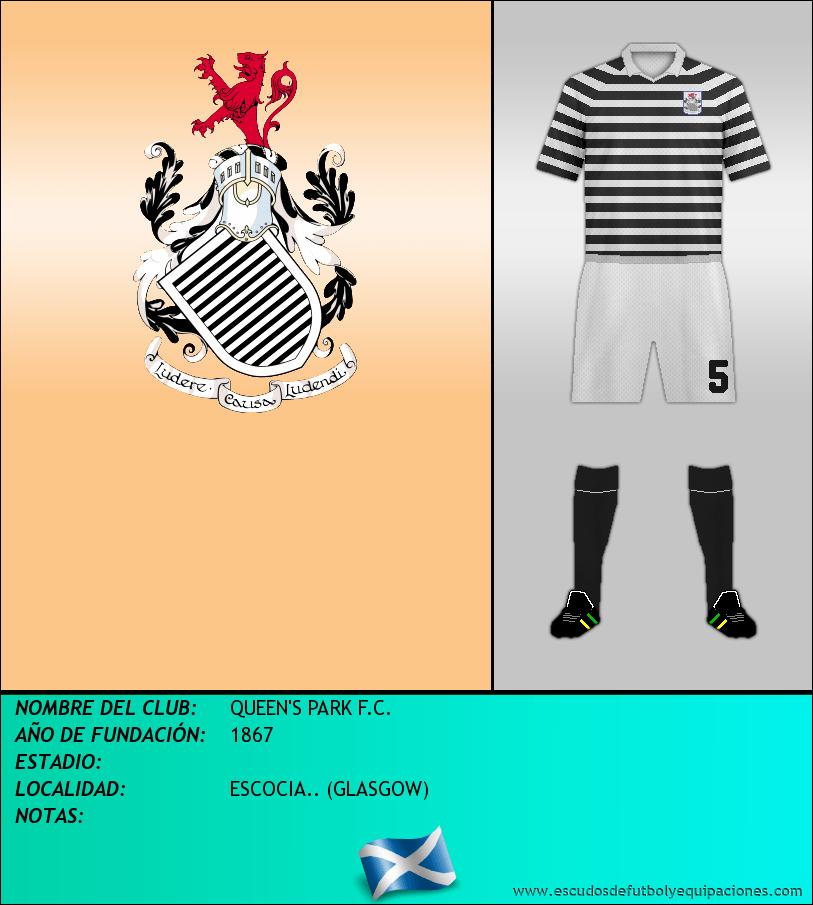 Escudo de QUEEN'S PARK F.C.