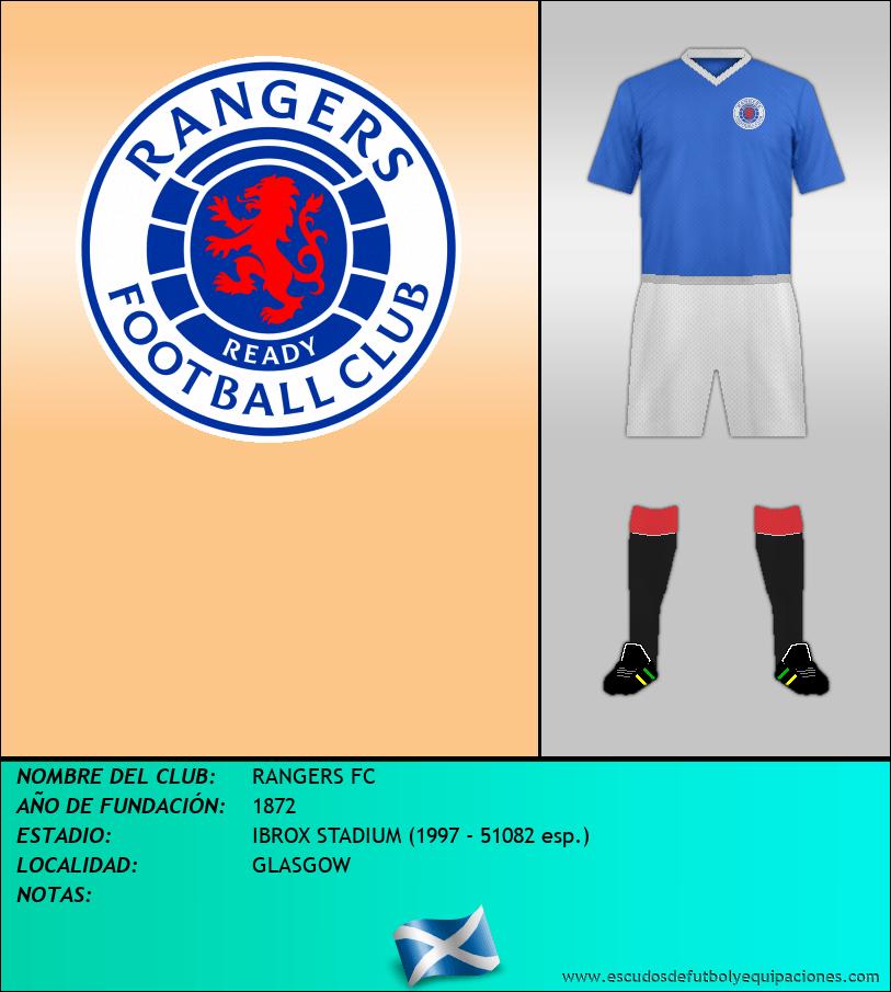 Escudo de RANGERS FC