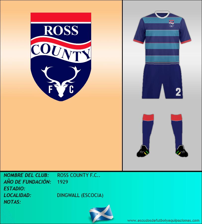 Escudo de ROSS COUNTY F.C..