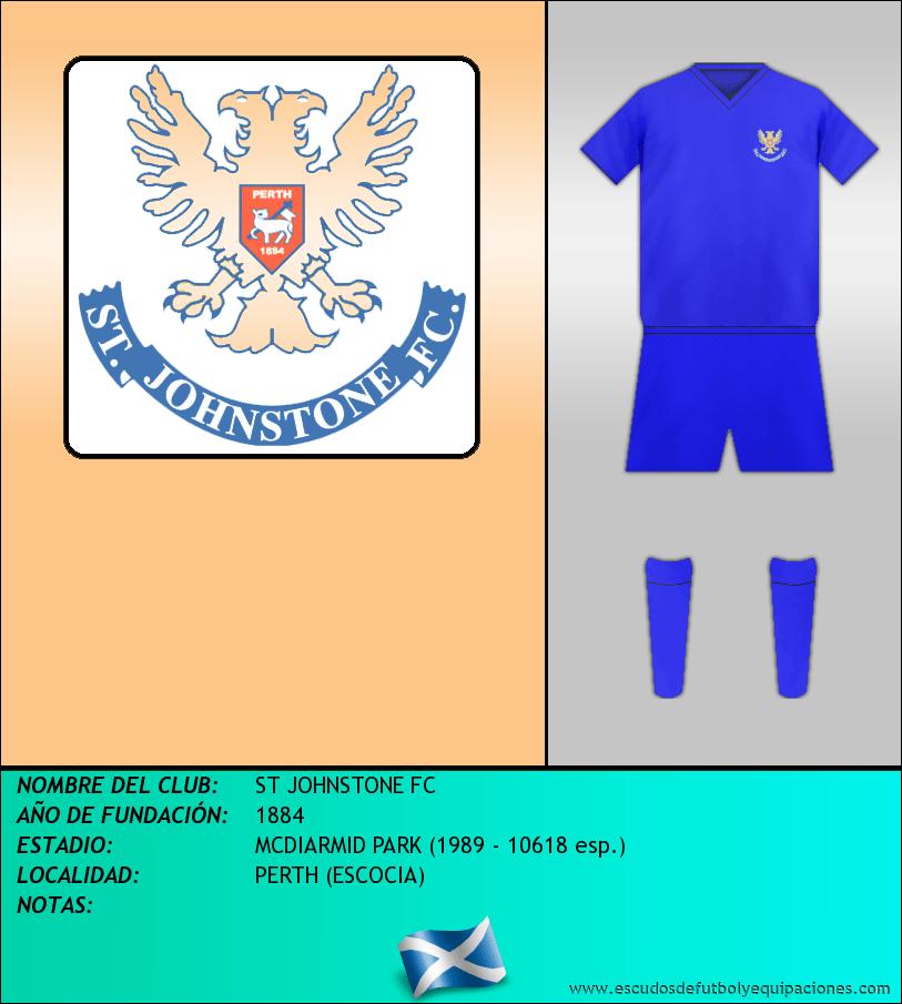 Escudo de ST JOHNSTONE FC