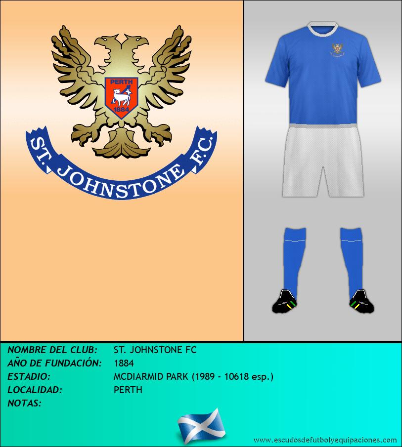 Escudo de ST. JOHNSTONE FC