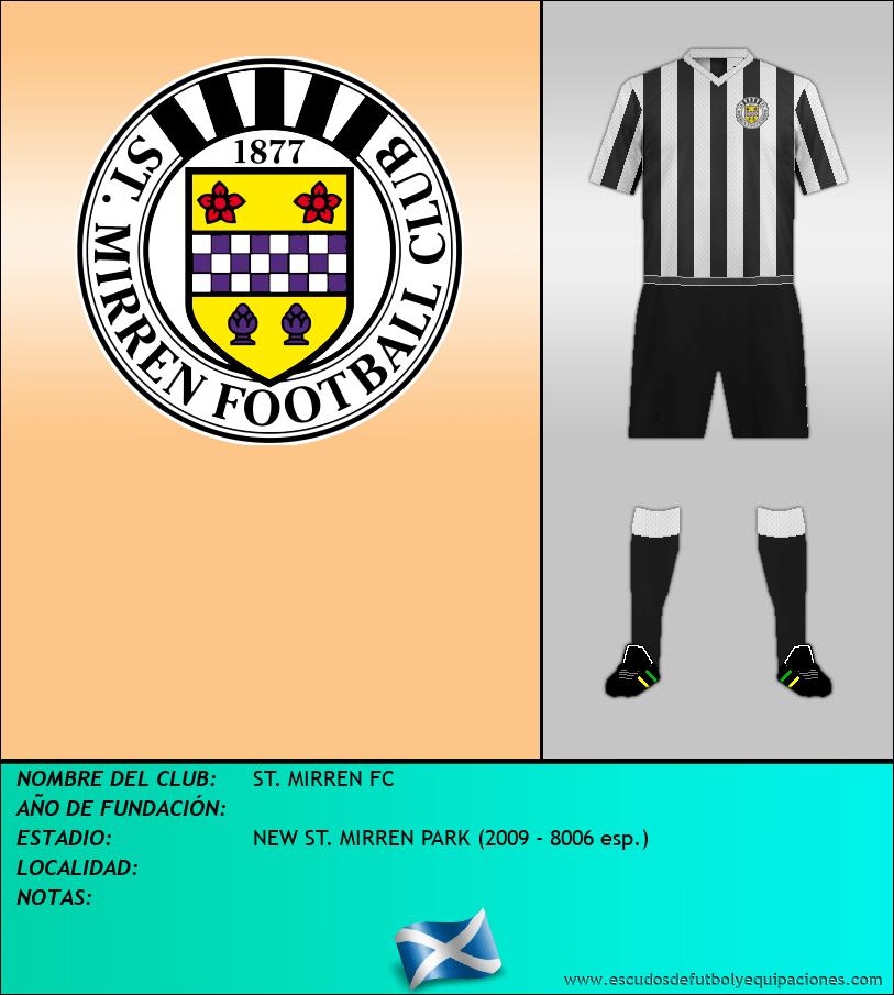 Escudo de ST. MIRREN FC