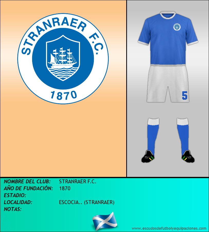 Escudo de STRANRAER F.C.