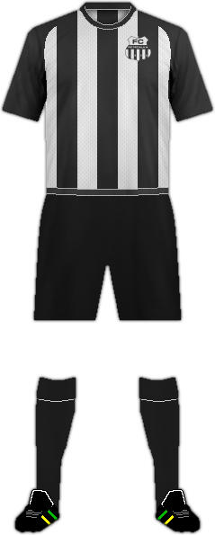 Equipación FC PETRZALKA 1898