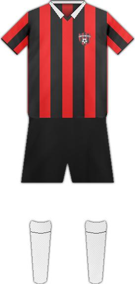 Equipación FC SPARTAK DE TRNAVA