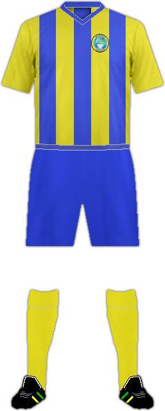 Equipación FK SLAVOJ TREBISOV