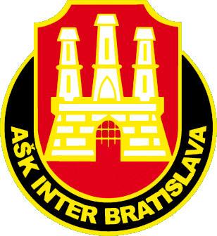 Escudo de ASK INTER BRATISLAVA (ESLOVAQUIA)