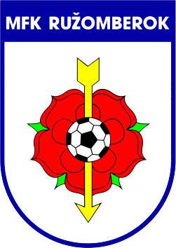 Escudo de MFK RUZOMBEROK (ESLOVAQUIA)