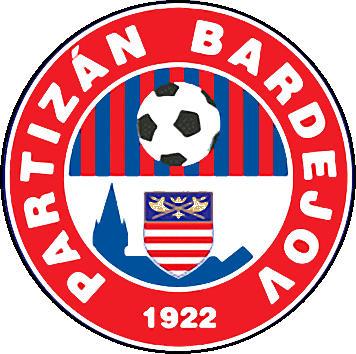 Escudo de SK PARTIZÁN BARDEJOV (ESLOVAQUIA)