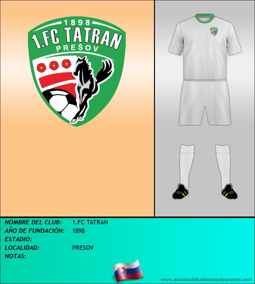 Escudo de 1.FC TATRAN