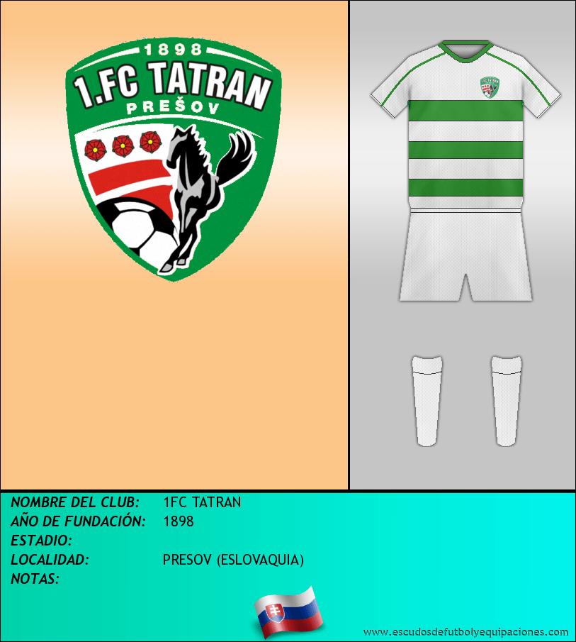 Escudo de 1FC TATRAN