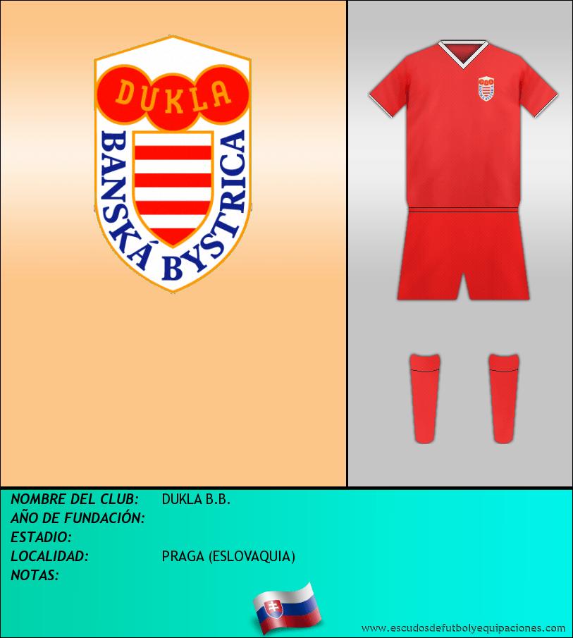 Escudo de DUKLA B.B.