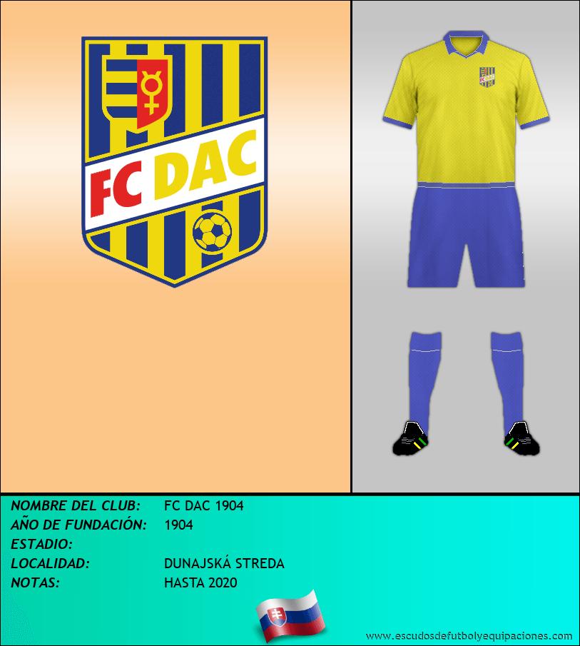 Escudo de FC DAC 1904