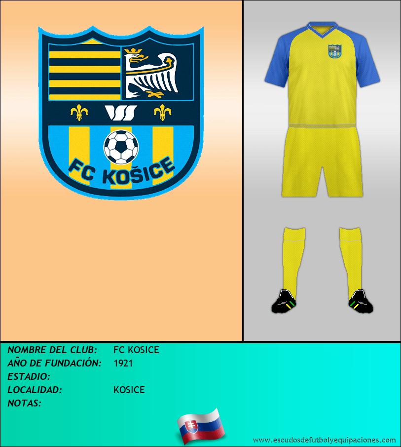 Escudo de FC KOSICE