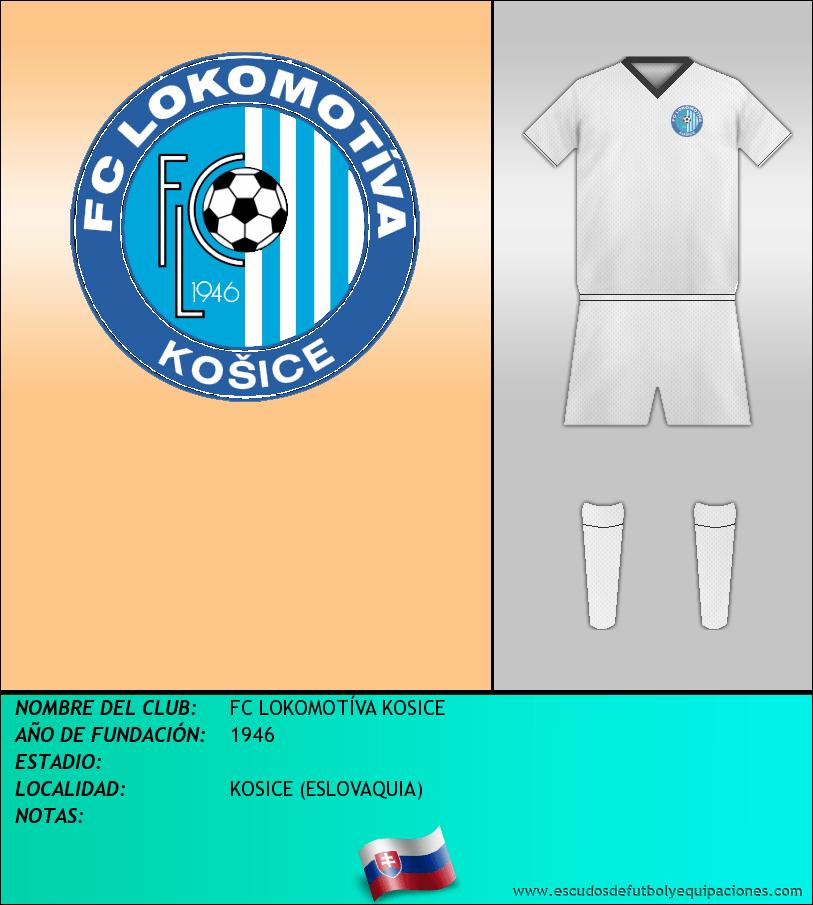 Escudo de FC LOKOMOTÍVA KOSICE