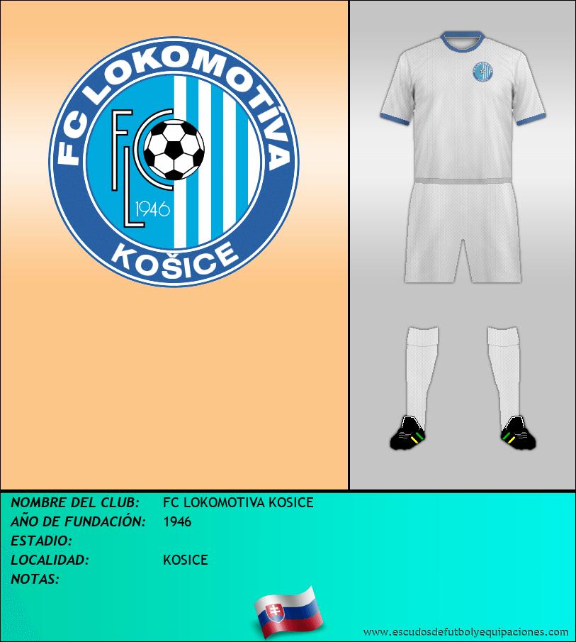 Escudo de FC LOKOMOTIVA KOSICE