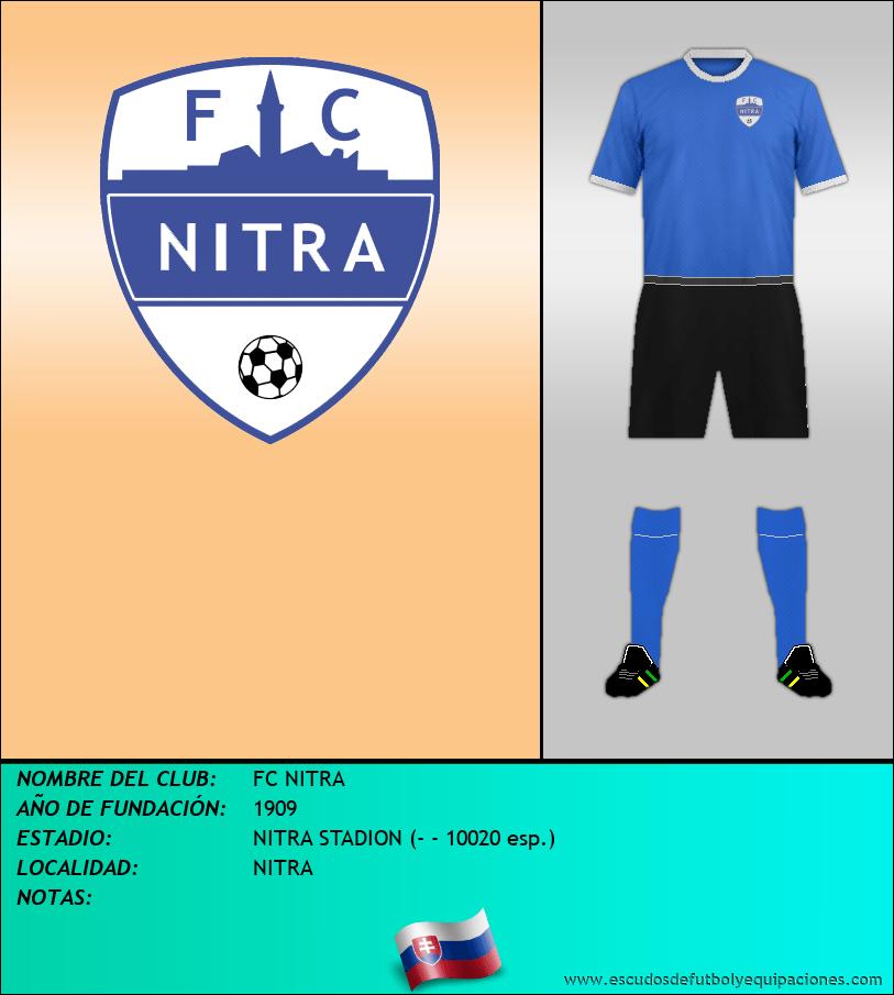 Escudo de FC NITRA