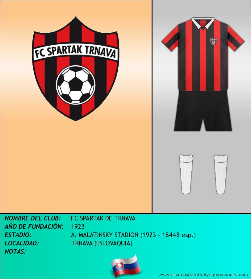 Escudo de FC SPARTAK DE TRNAVA