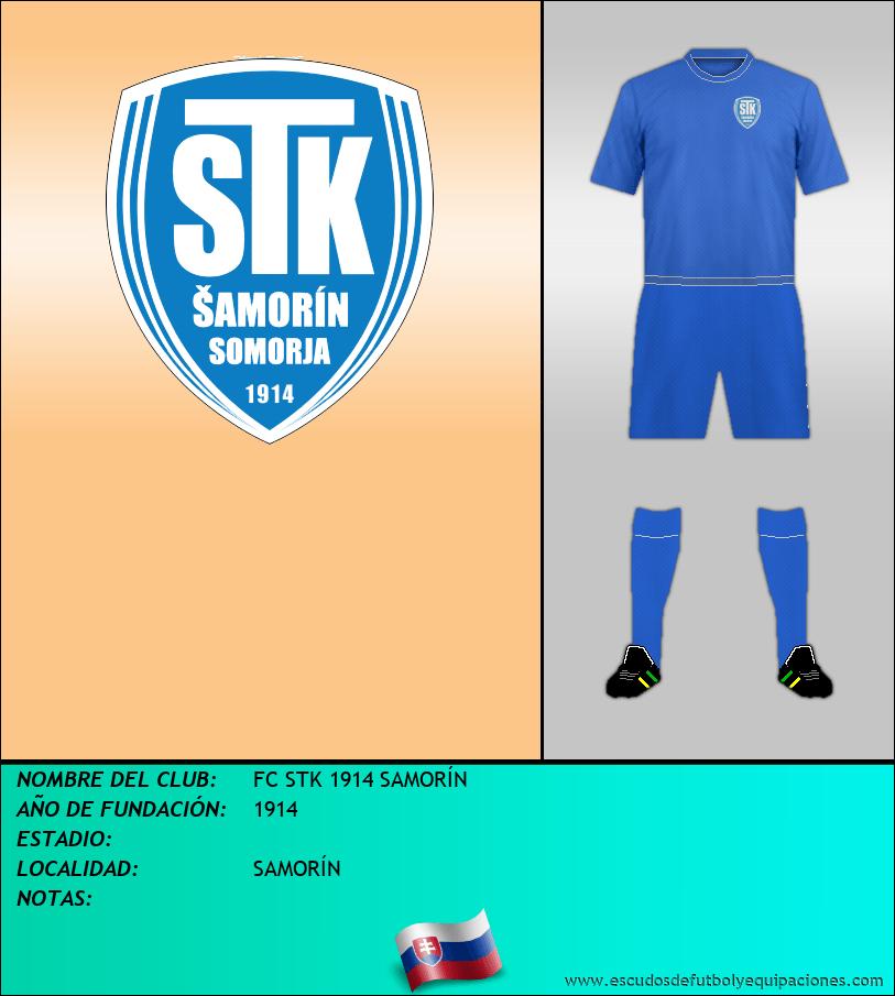 Escudo de FC STK 1914 SAMORÍN