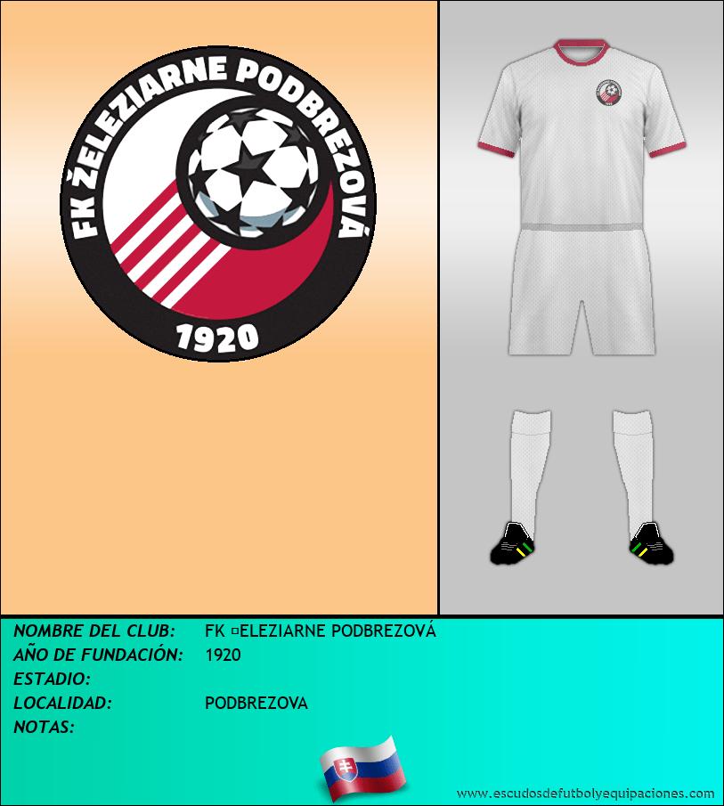 Escudo de FK ŽELEZIARNE PODBREZOVÁ