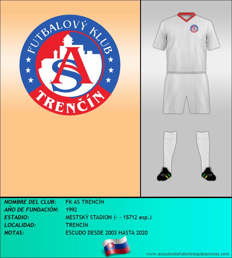 Escudo de FK AS TRENCÍN
