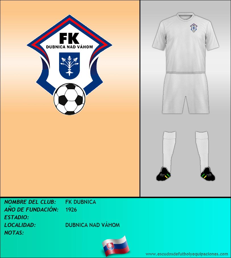 Escudo de FK DUBNICA