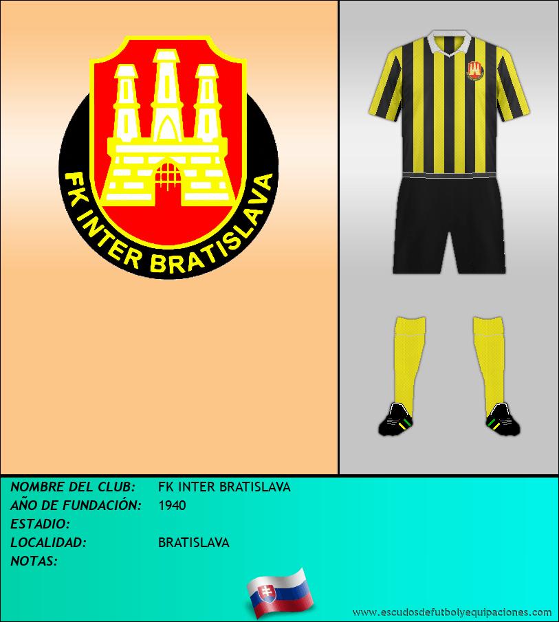 Escudo de FK INTER BRATISLAVA