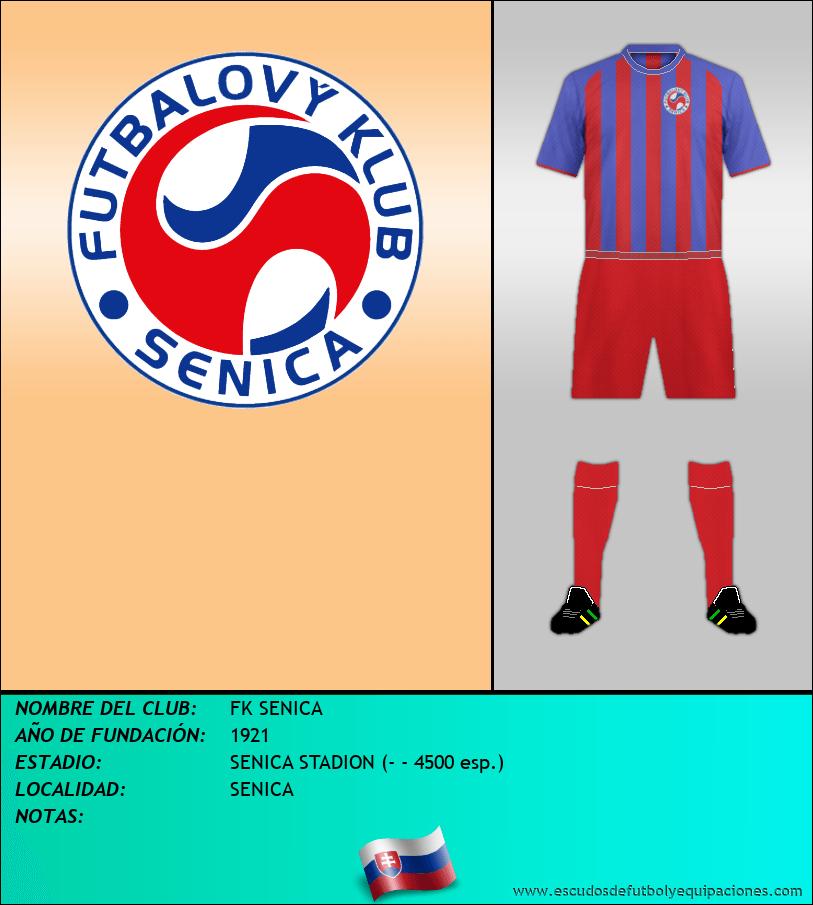 Escudo de FK SENICA