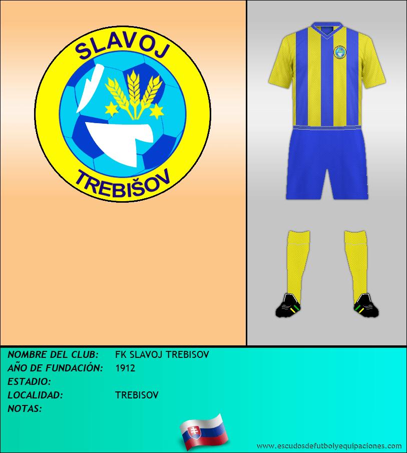 Escudo de FK SLAVOJ TREBISOV