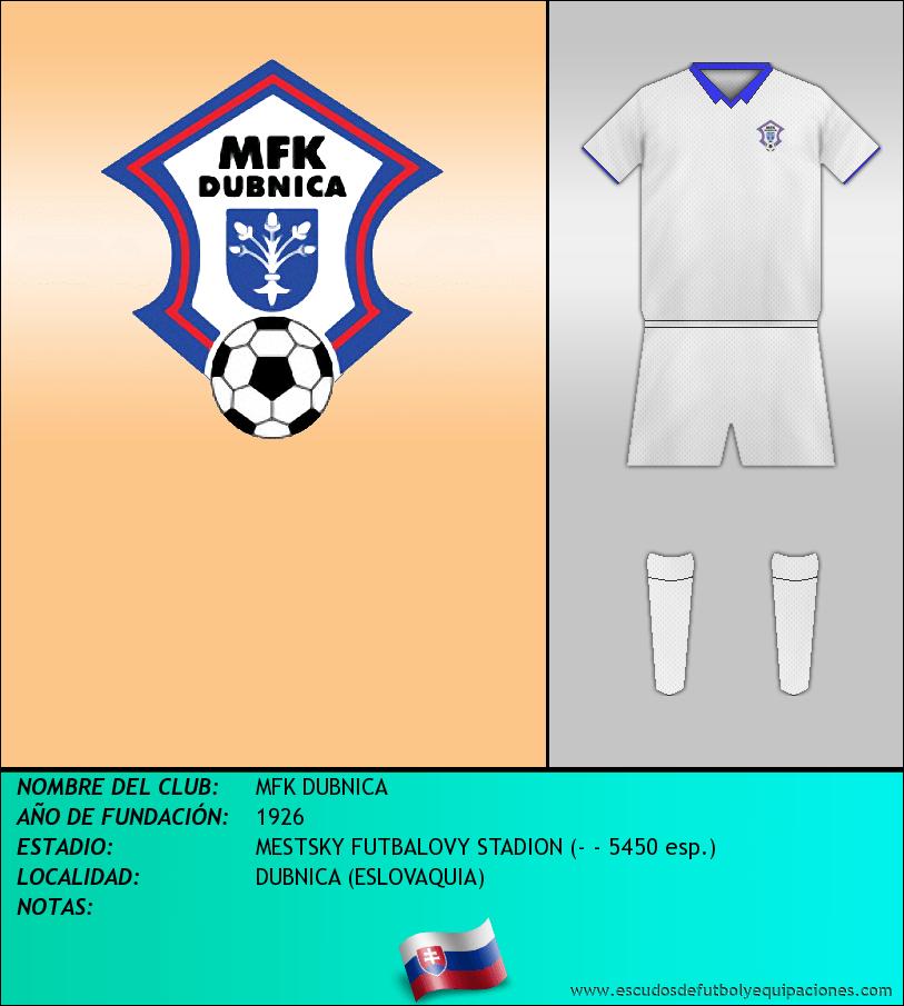 Escudo de MFK DUBNICA