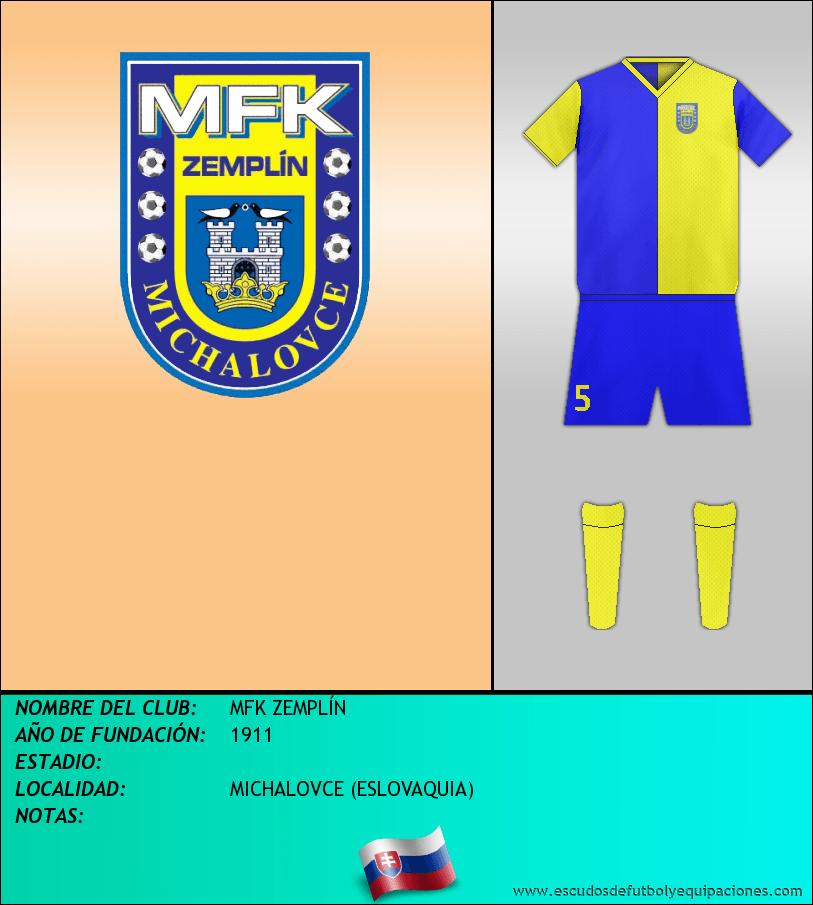 Escudo de MFK ZEMPLÍN