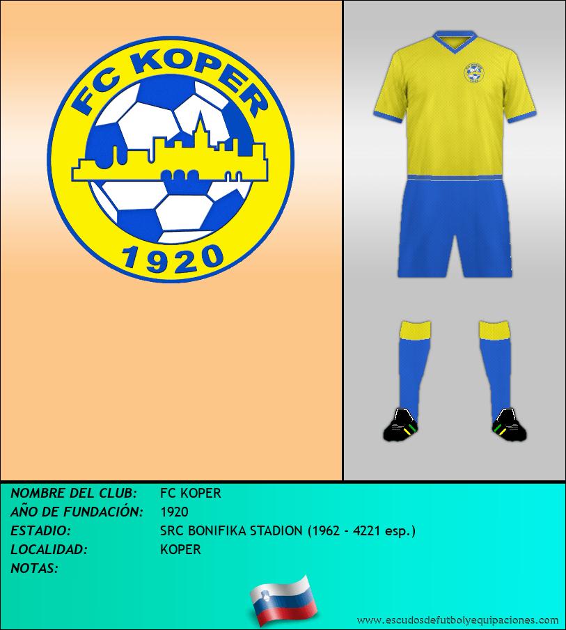 Escudo de FC KOPER