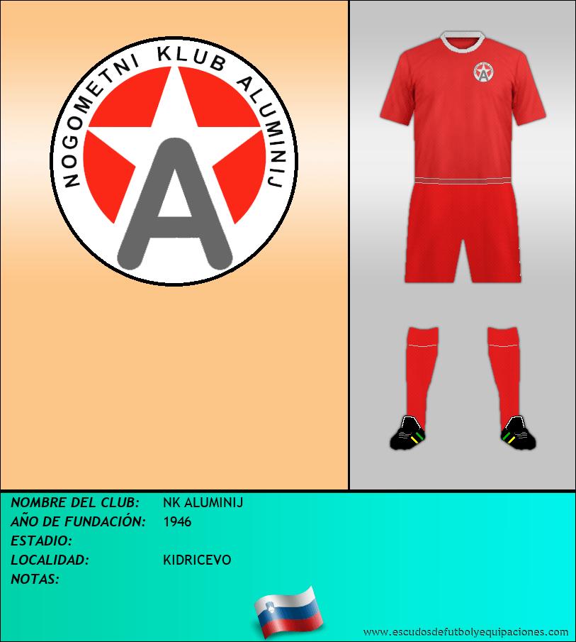 Escudo de NK ALUMINIJ