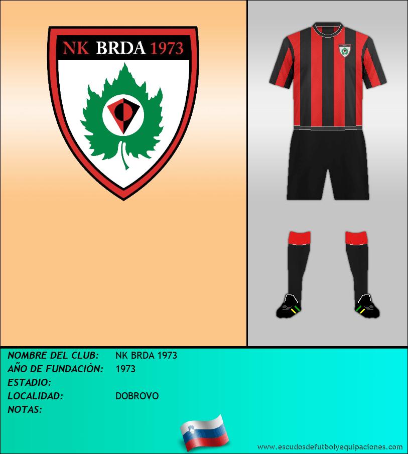 Escudo de NK BRDA 1973