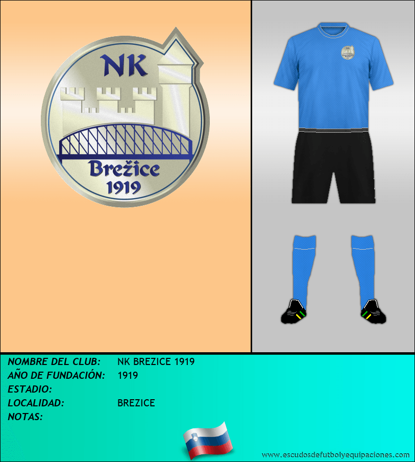 Escudo de NK BREZICE 1919