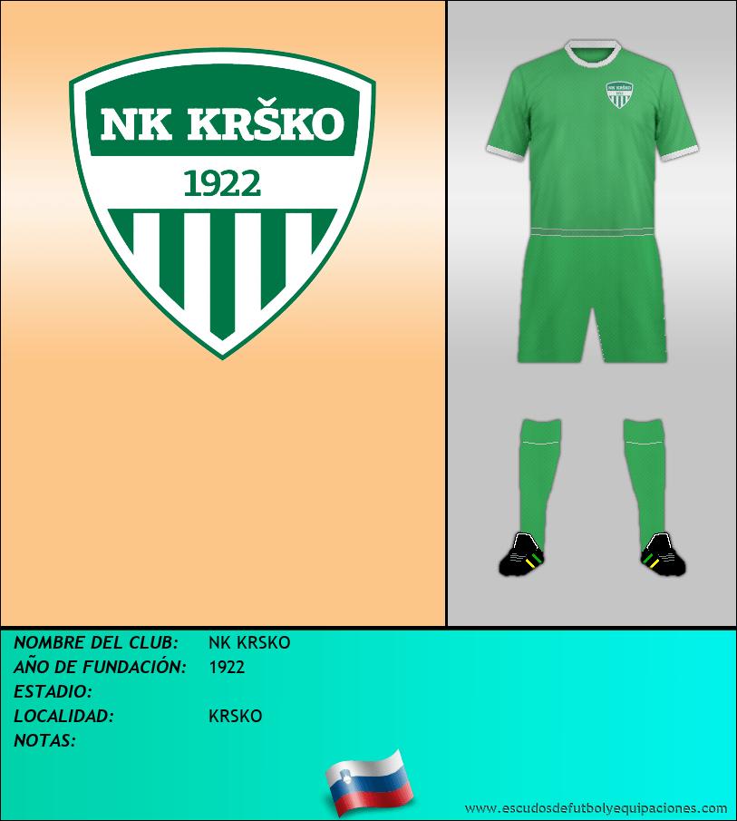 Escudo de NK KRSKO