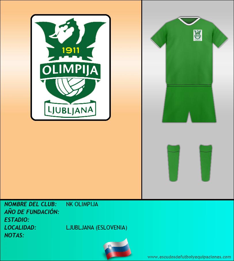 Escudo de NK OLIMPIJA