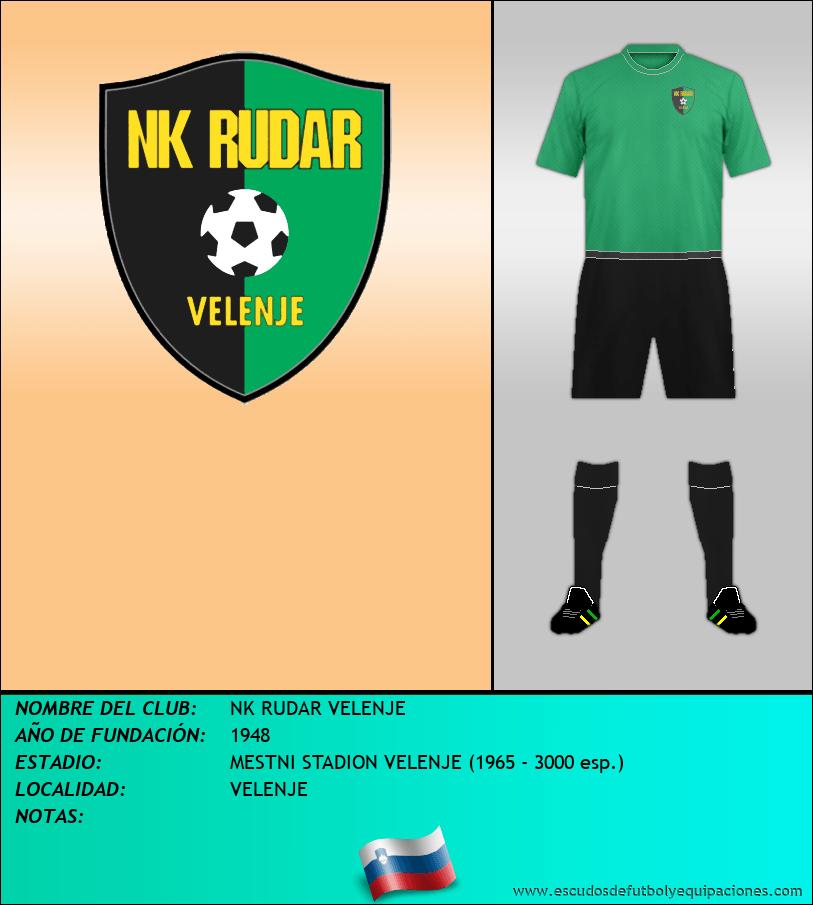 Escudo de NK RUDAR VELENJE