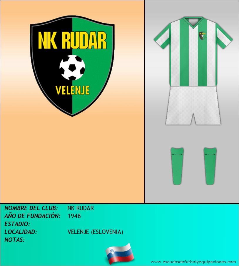Escudo de NK RUDAR
