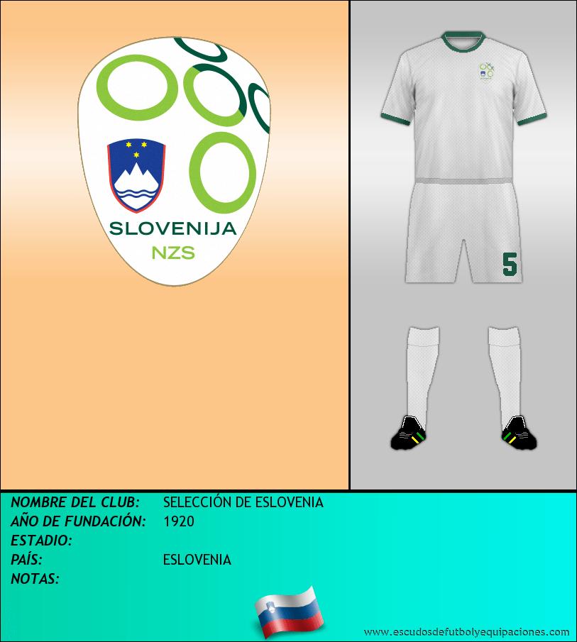 Escudo de SELECCIÓN DE ESLOVENIA