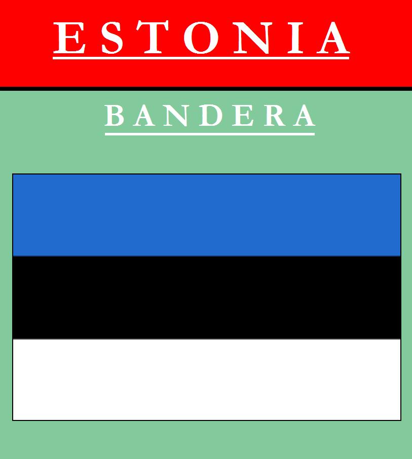 Escudo de BANDERA DE ESTONIA