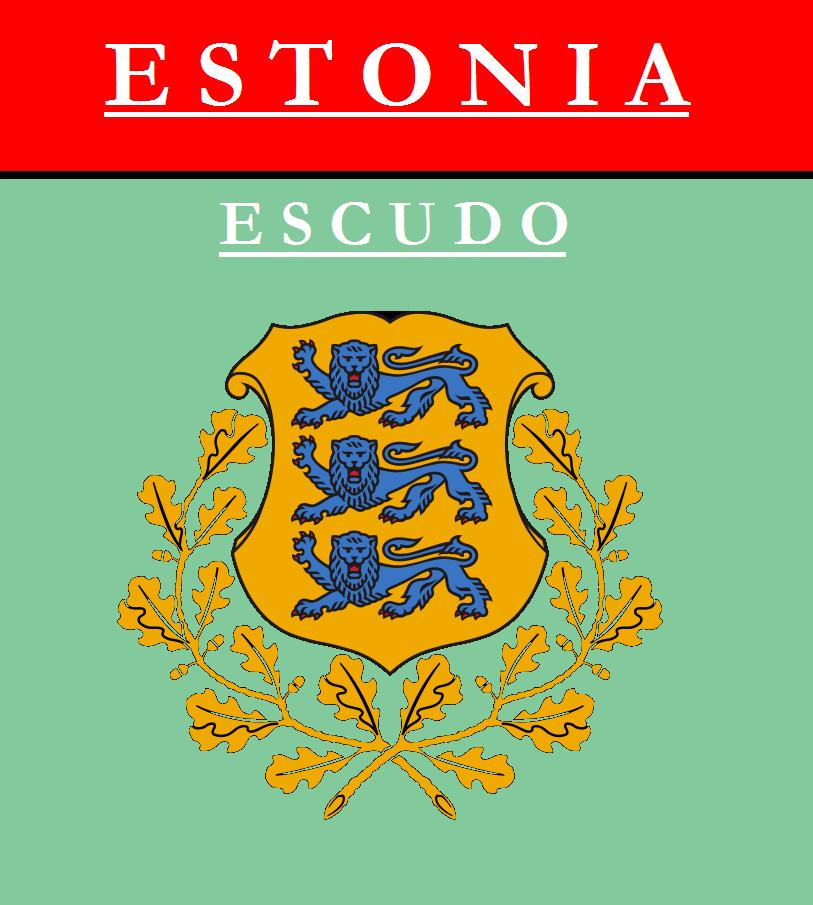 Escudo de ESCUDO DE ESTONIA
