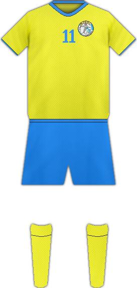 Equipación FC AJAX LASNAMÄE