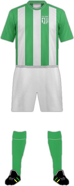 Equipación FC FLORA