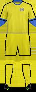 Equipación FC KURESSAARE