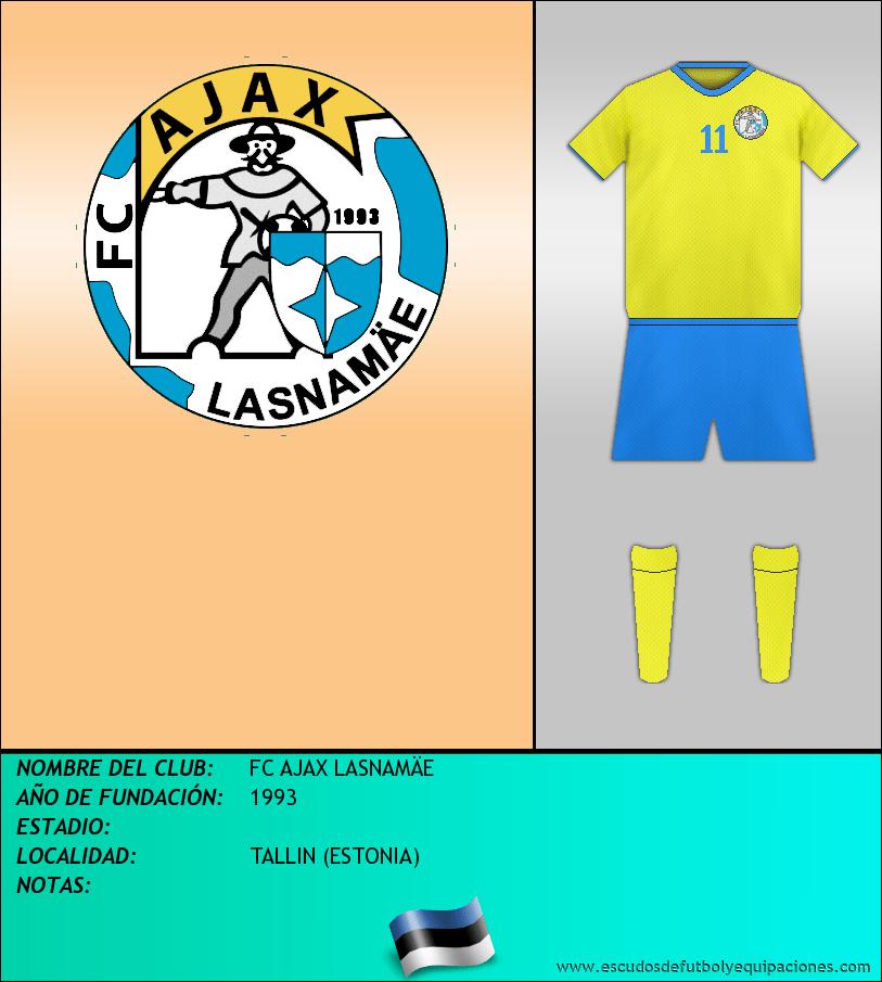 Escudo de FC AJAX LASNAMÄE