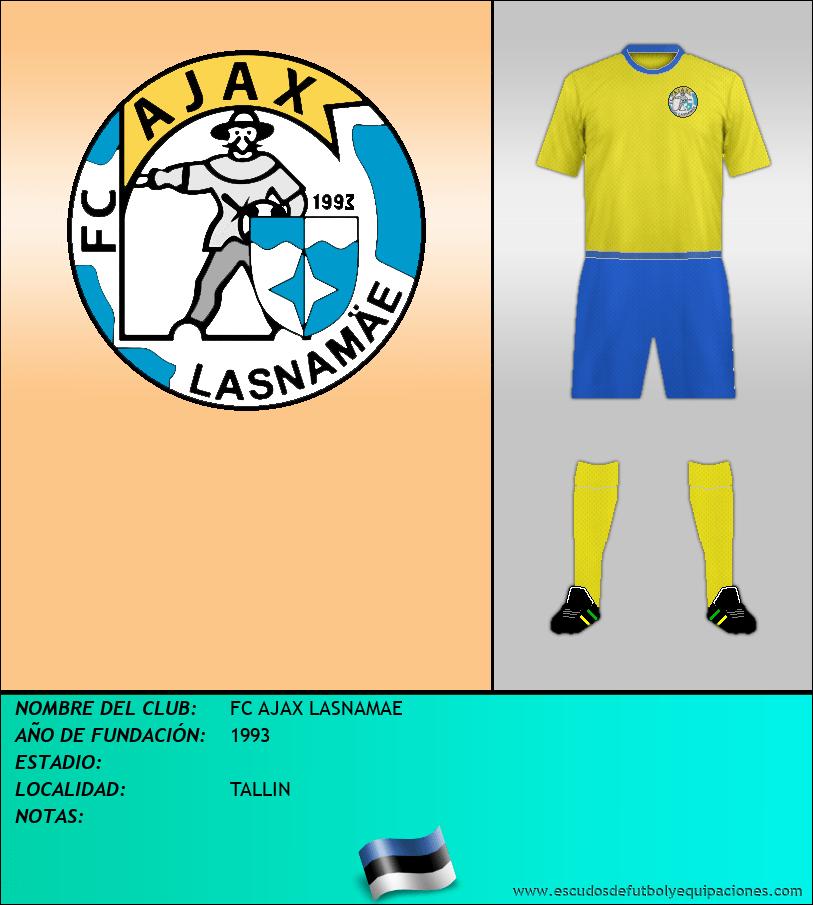 Escudo de FC AJAX LASNAMAE