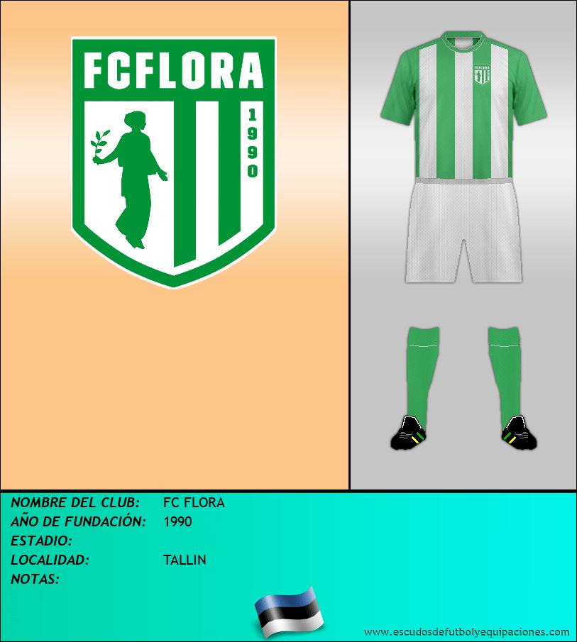 Escudo de FC FLORA