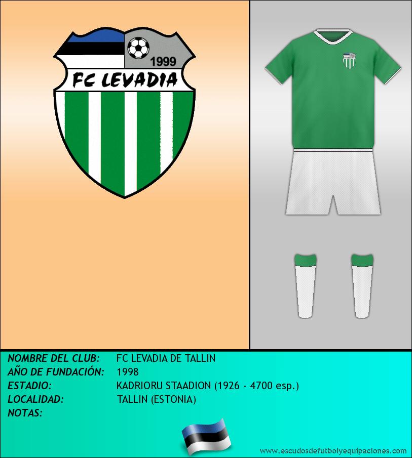 Escudo de FC LEVADIA DE TALLIN